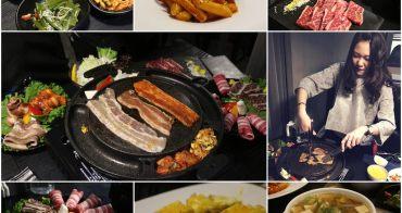 大安區美食 ▌高級韓式烤肉吃到飽「Major K 主修韓坊」,大推豬五花,份量超多一輪烤肉都吃不完@捷運信義安和站站(美國CHOICE級牛小排)