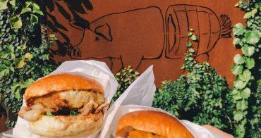 台中北屯美食|絕對回訪!目前吃過最好吃的漢堡店:「柴燒火腿製造所」不只是拍照美店啊@台中北屯區