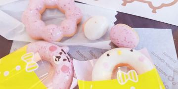 Mister Donut少女心爆棚的期間限定~『卡娜赫拉』粉紅兔兔&可愛P助甜甜圈萌翻上市/另有8款限定造型杯/甜點、下午茶、草莓、櫻花
