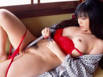 【ヌード画像】着物美人の脱ぎかけヌードがレベル高杉w 20