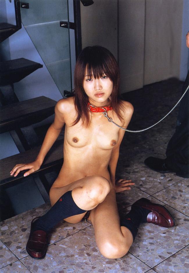 【ヌード画像】首輪つき女の子たちを雌犬扱いしたいw(34枚) 19
