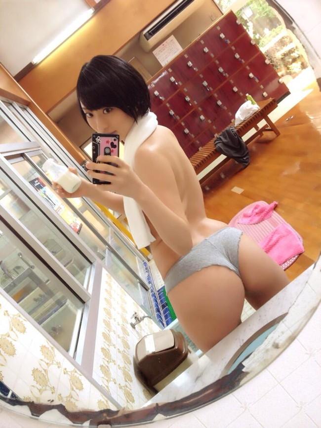 【ヌード画像】尻ドル倉持由香のセクシーセミヌード画像(33枚) 21