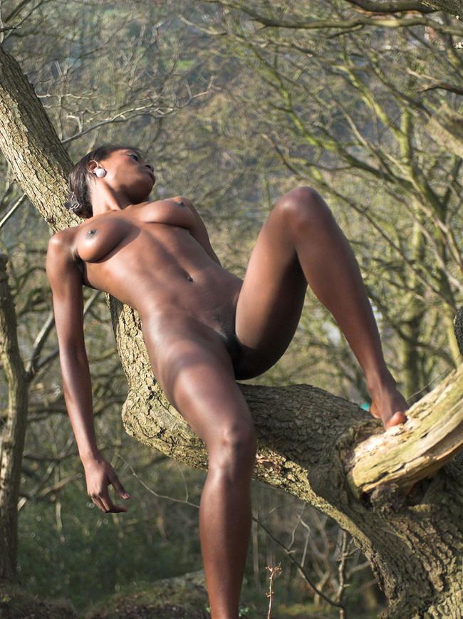 【ヌード画像】黒人美女の裸体はマジで勃起するw(34枚) 28