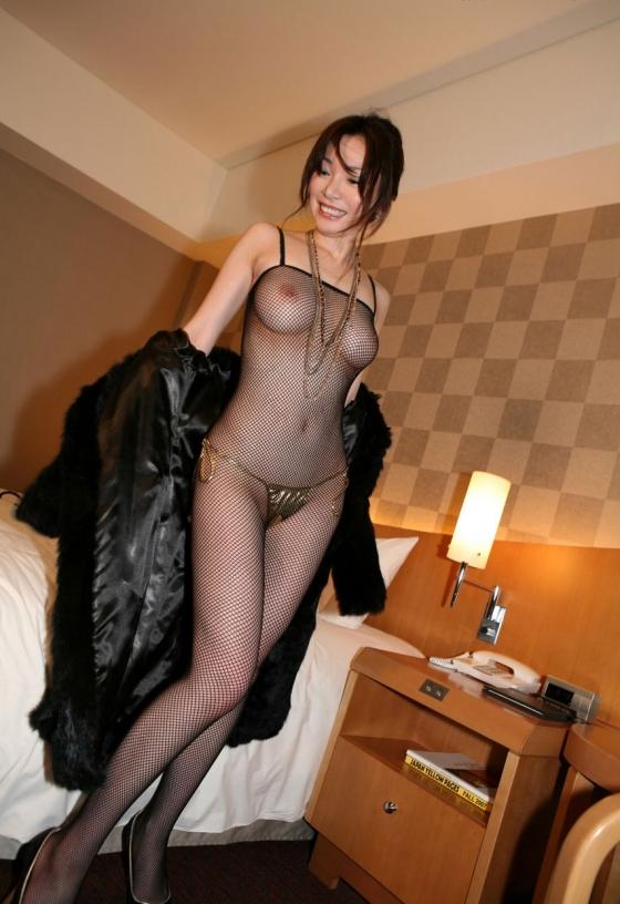 【ヌード画像】全身網タイツを着た美女のエロさは神w(31枚) 03
