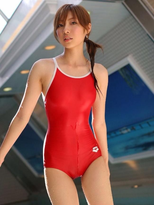 【ヌード画像】ビキニよりもTバックよりも断然エロい水着、それが競泳水着。血が止まるほどピッチピチのエロい競泳水着画像集(50枚) 45