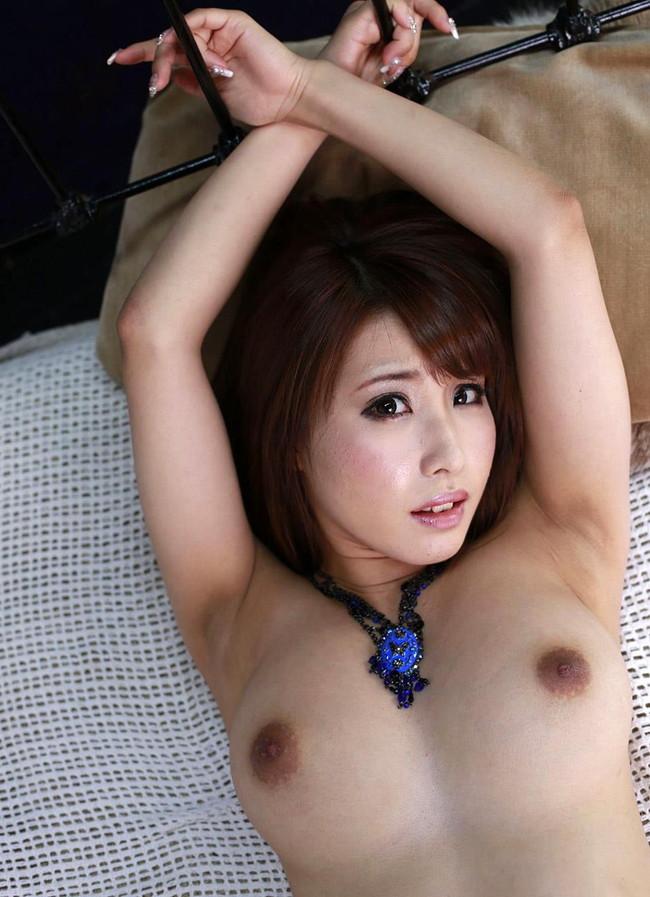 【ヌード画像】乳首色濃いと人間味があってこっちの方がエロい!と感じたらこの黒乳首ヌード画像集をどうぞww(50枚) 37