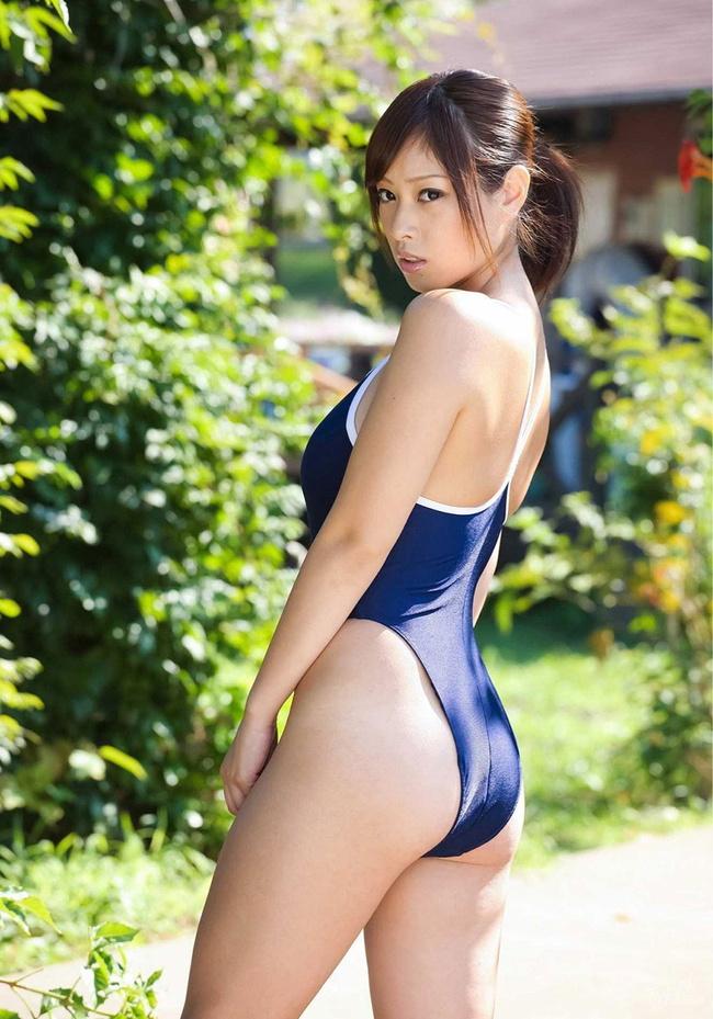 【ヌード画像】青春を思い出す競泳水着とスクール水着の画像(30枚) 15