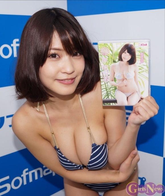 【ヌード画像】はんなりGカップこと岸明日香の90cmバスト画像(32枚) 09