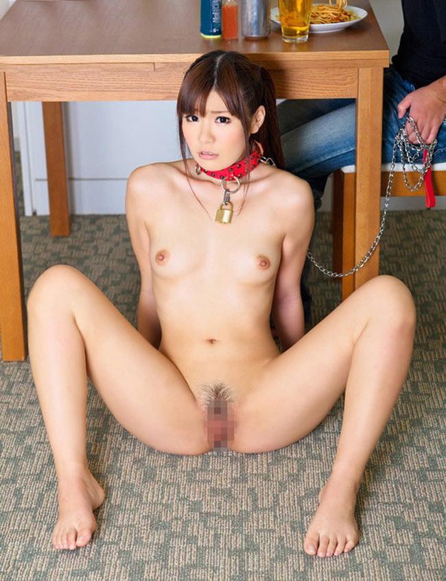 【ヌード画像】全裸で首輪されている雌犬M奴隷画像まとめ(30枚) 19
