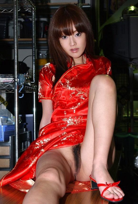 【ヌード画像】美脚にしか目がいかないチャイナドレス画像(30枚) 07