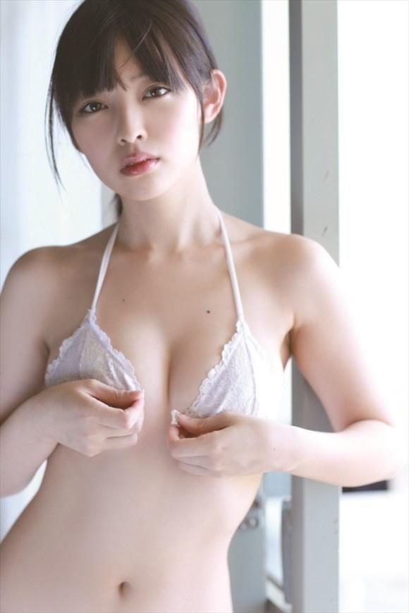 【ヌード画像】清楚なお嬢様系タレント安藤遥さんの水着画像(30枚) 16