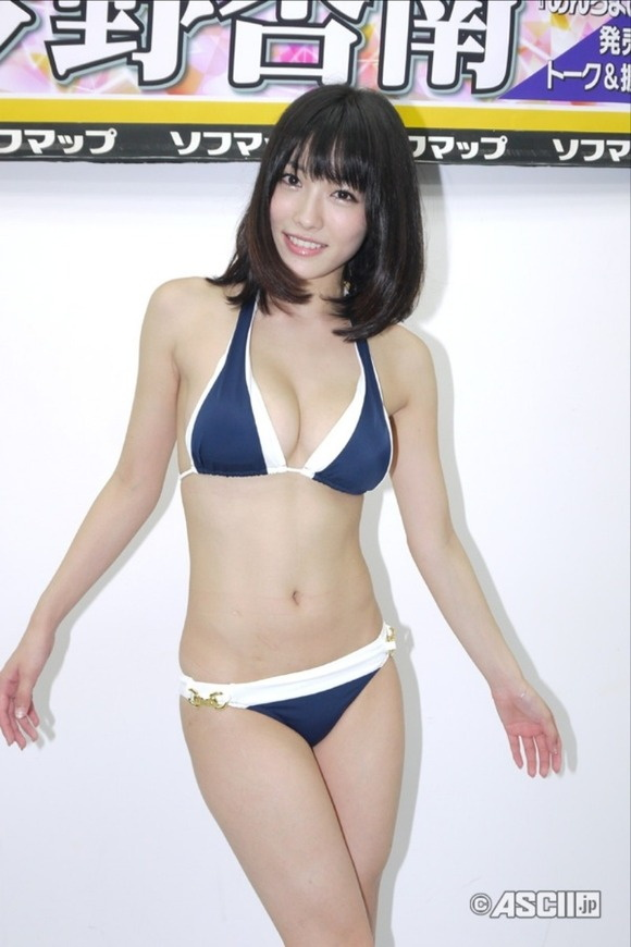 【ヌード画像】Fカップの人気グラドル今野杏南ちゃんの水着画像(30枚) 28