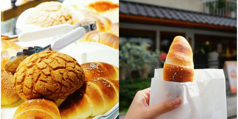 """【台北大安美食】一禾堂 麵包本舖  *♥熱賣海鹽奶油捲""""日式紅豆麵包"""