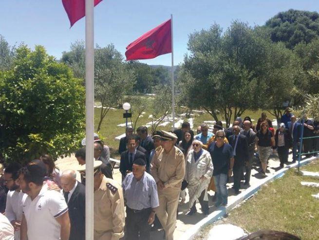 Arrivée du gouverneur et des notables de Ouazzane à la hiloula.