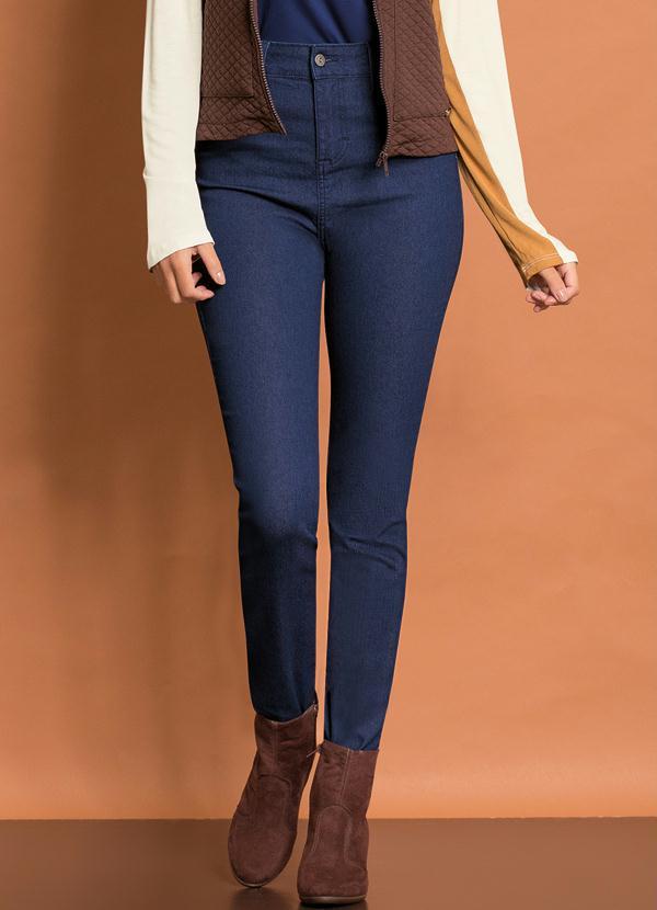 Calça Skinny (Jeans Azul)