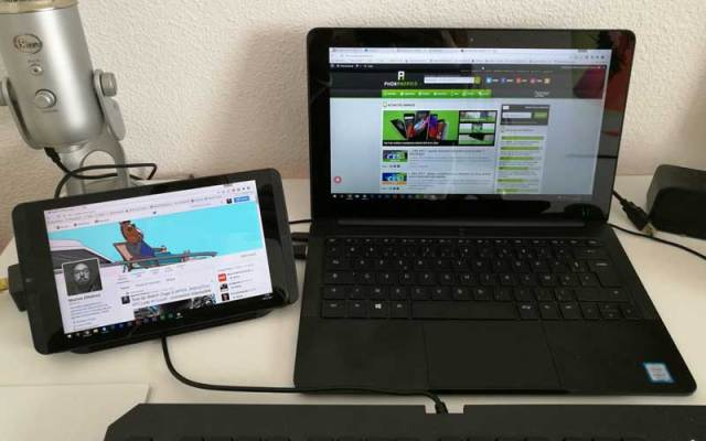 utiliser Android en second écran windows