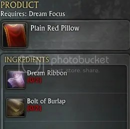 Dream Weaver Guide - >PLAIN RED PILLOW
