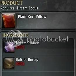 Dream Weaver Guide - >PLAIN RED PILLOW