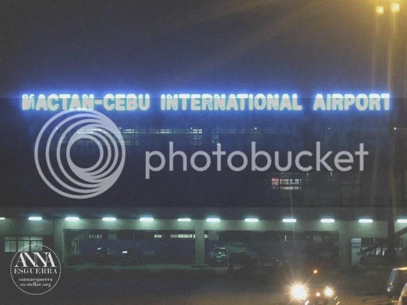 Bye Cebu, hehe