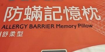【體驗文】好眠又防過敏的3M防螨記憶枕