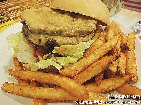 食記‧員林美食|發現比臉大的美味漢堡 《FEEDME-員林店》(已改名)