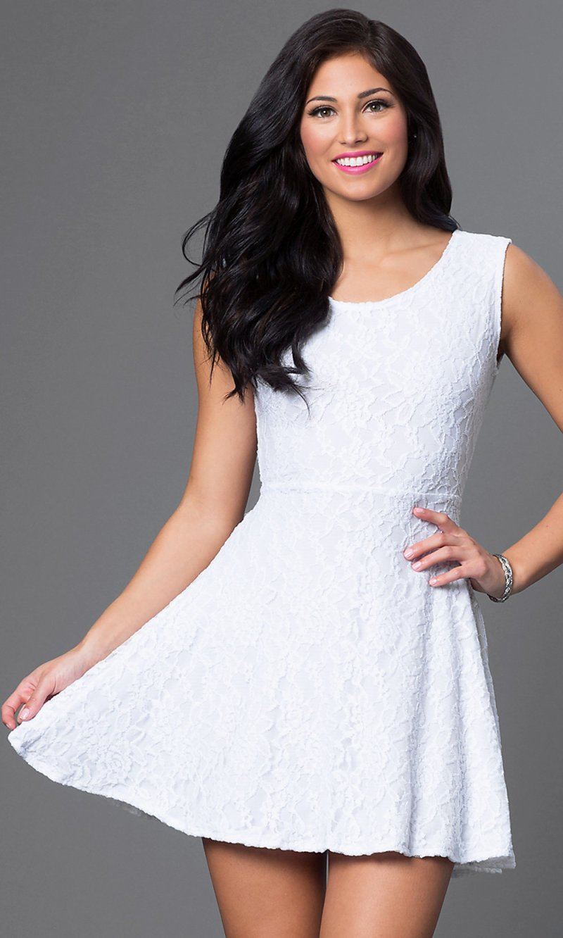Large Of Short White Dresses