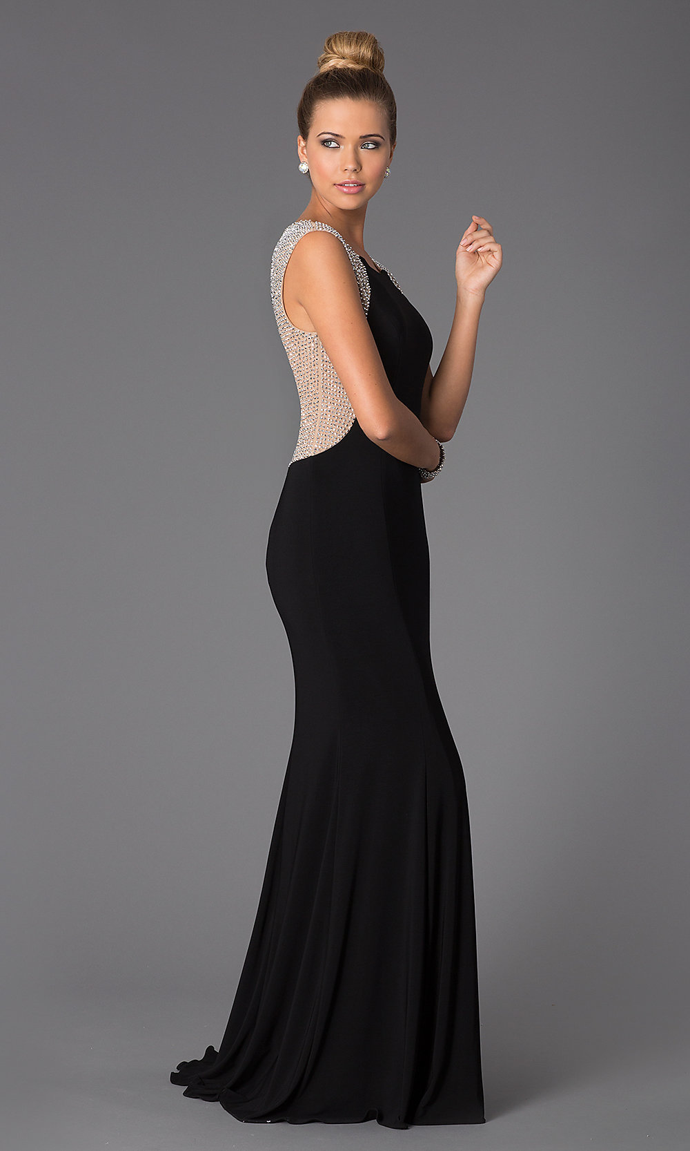 viewitem PD black dress wedding guest Hover to zoom