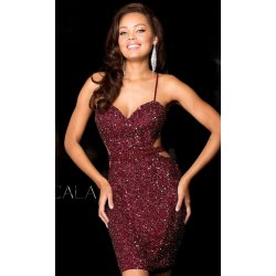 Small Crop Of Red Sequin Dress