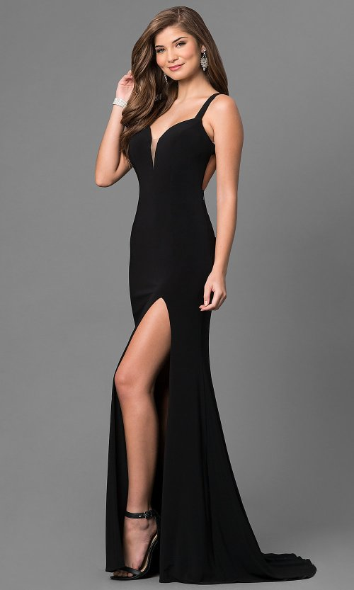 Medium Of Prom Dresses Black