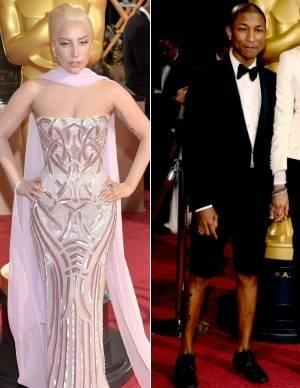 Músicos mostram estilo duvidoso no tapete vermelho do Oscar