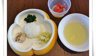 【1y3m~1y5m】副食品:昆布柴魚湯