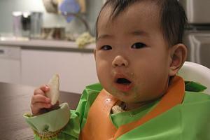自製嬰兒米餅