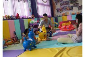 【高雄親子遊戲空間推薦】為0-3歲寶寶量身打造的遊樂場~親紫屋\親子餐廳