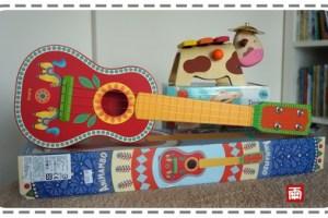 【試用好物推薦】法國DJECO智荷的音樂美學—在美感中玩樂器!曼波馬吉他&彩色牛音樂木琴