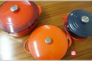 《琺瑯鑄鐵鍋超級比一比》LE CREUSET\LC、STAUB、KIRKLAND,同場加映鑄鐵鍋的使用注意事項與養鍋方法