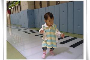 ⊕1y1m~1y2m⊕海豚音、第一次在外走路&爬樓梯、『洗澡』手語、『姊姊』