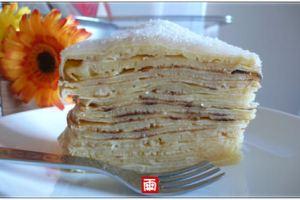 《親子廚房》無添加早餐與點心~鬆餅、脆薄餅、千層蛋糕