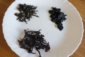 用紫菜自製海苔粉、海苔酥、海苔醬