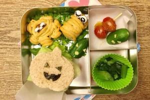 【便當日記】#35萬聖節主題便當Bento #35 Halloween Lunch Box