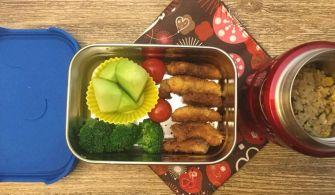 【便當日記】#67 帶壽司?不帶壽司?Bento #67 Sushi For Lunch?