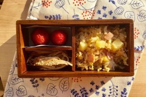 【便當日記】#82鳳梨炒飯Bento #82 Pineapple Fried Rice