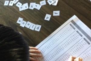 加拿大旅記:英語拼字遊戲