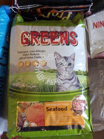pembekal makanan kucing greens pets for sale in kuala terengganu