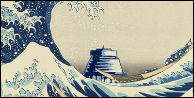 the great wave, tsunami, sea level rise, wellington, beehive