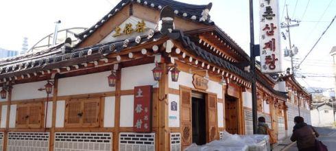 景福宮站/沒吃過就不算來國韓國的土俗村人蔘雞토속촌 삼계탕