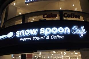 弘大美味冰淇淋~snow spoon