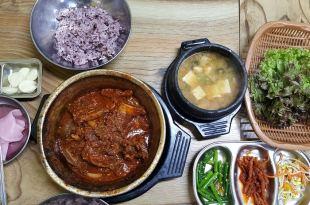 大邱。西門市場站 | 三美食堂( 삼미식당)~美味的燉排骨,巷弄間的好味道