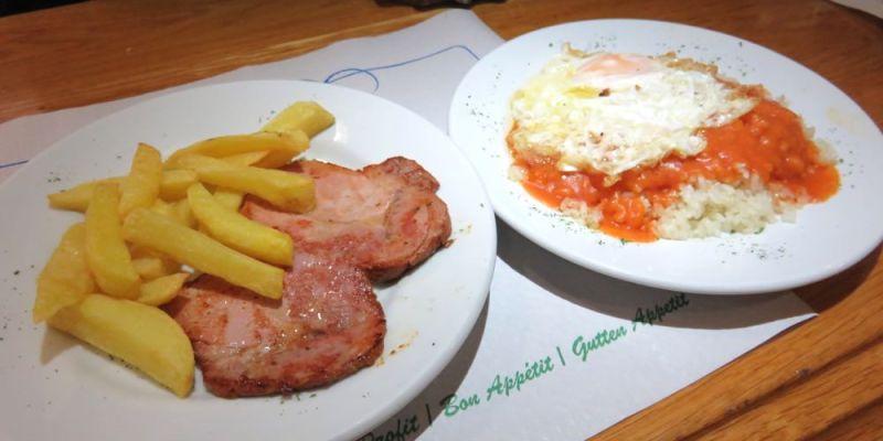 《西班牙馬德里》Cafeteria Astoria 快餐店的熱食 無比療癒