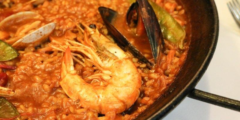 西班牙巴塞隆納海邊吃海鮮燉飯找卡爾巴耶拉Carballeira