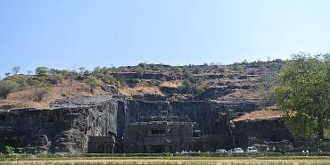 奇幻西印Day10 奧蘭卡巴 Ellora Caves 展現人類無窮潛力的世界遺跡之一 part2
